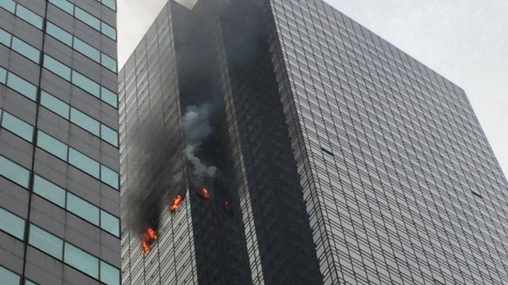 Incendiu la Trump Tower
