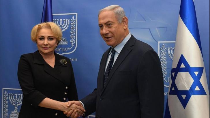 Ce a scris Benjamin Netanyahu despre vizita lui Dragnea și Dăncilă în Israel. Mesaj oficial