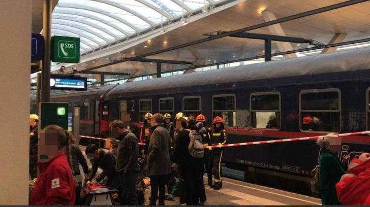Accident feroviar în Austria