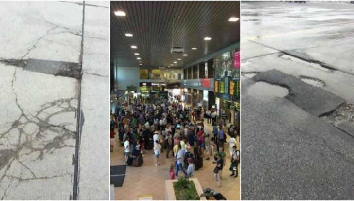 Piste distruse pe Aeroportul Otopeni: Siguranța pasagerilor, pusă în pericol. Când încep reparaţiile