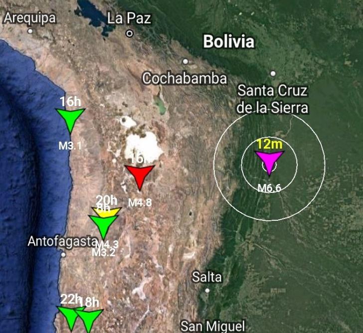 <p>Cutremur în Bolivia</p>