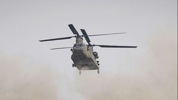 Doi piloți au murit, după ce elicopterul militar s-a prăbușit în Marea Baltică
