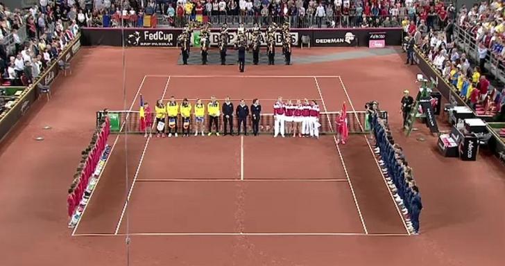 Simona Halep. Fed Cup. E unic în istoria tenisului mondial, la Cluj. Lacrimi în ochi pentru Simona