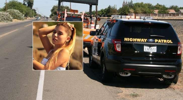 <p>Fotomodel ucis în accident de mașină</p>