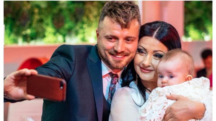 Câți bani au câștigat Gabriela Cristea și Tavi Clonda la botezul fiicei lor. Suma este imensă