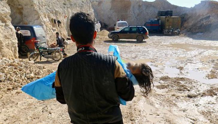 Gaz sarin, folosit la Douma