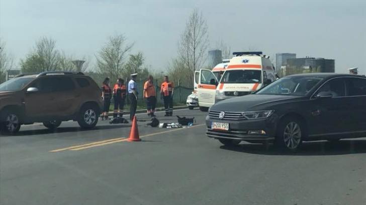Accident mortal în nordul Capitalei. Victima, un motociclist