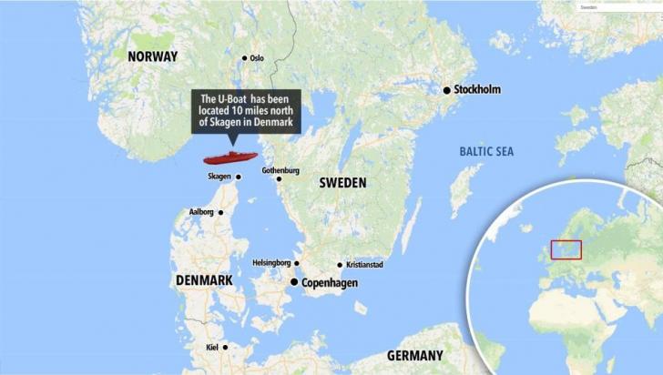 Descoperire istorică. Resturile unui submarin nazist au fost găsite după 73 de ani VIDEO