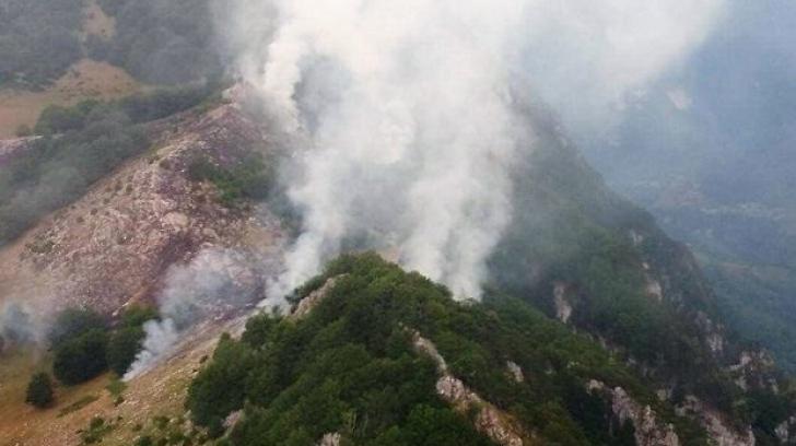 Incendiu în Parcul Naţional Domogled-Valea Cernei