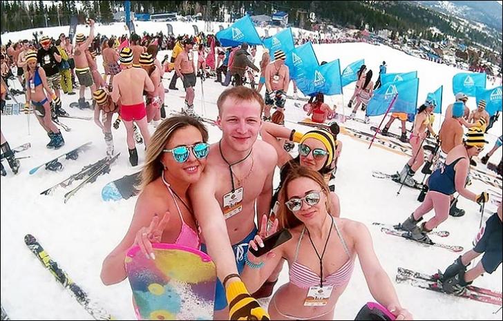 <p>Un Festival al Zăpezii mai diferit, în Siberia</p>