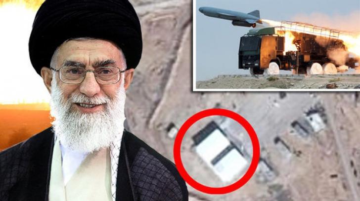 Atac asupra unei baze militare iraniene din Siria