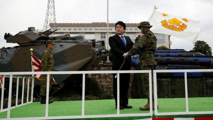 Japonia a luat măsuri militare în privința insulelor revendicate de China