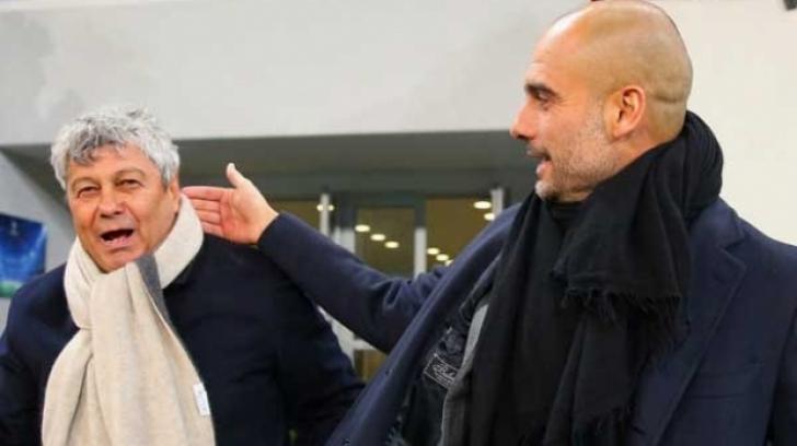 """Mircea Lucescu l-a lăsat cu gura căscată pe Pep Guardiola. """"Il Luce"""" i-a mirat pe toţi"""