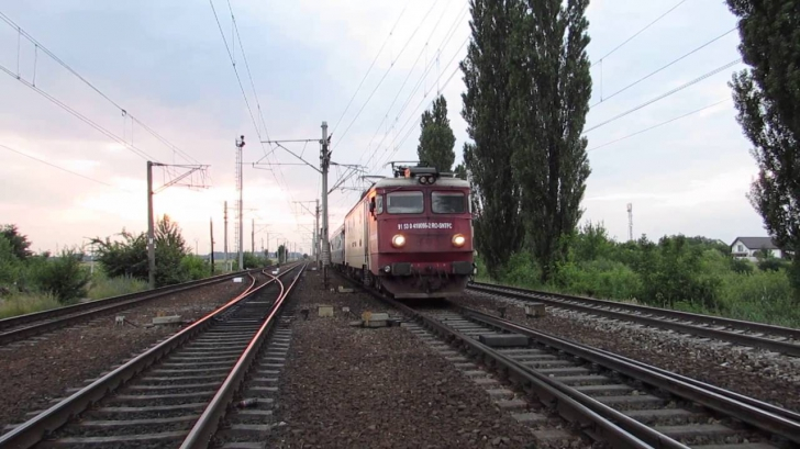 """Realitatea TV filmează infrastructura CFR din Giurgiu și deranjează Poliția: """"Actele la control!"""""""