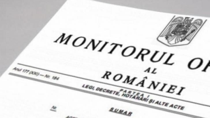 LISTA bugetarilor care îşi iau salariile înainte de Paşte a fost publicată în Monitorul Oficial