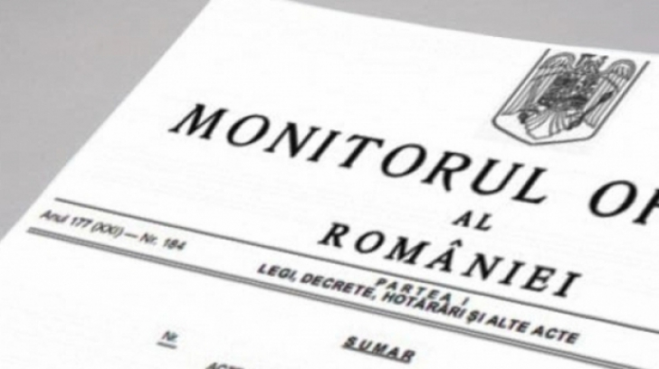 Monitorul Oficial (MO) al României