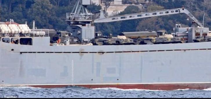Rusia pregătește contraofensiva în Siria. Două nave militare  se îndreaptă spre Tartus(Video)