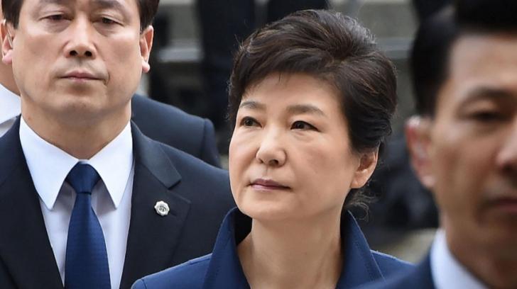 Prima femeie preşedinte din Coreea de Sud, condamnată la 24 de ani de închisoare pentru corupţie