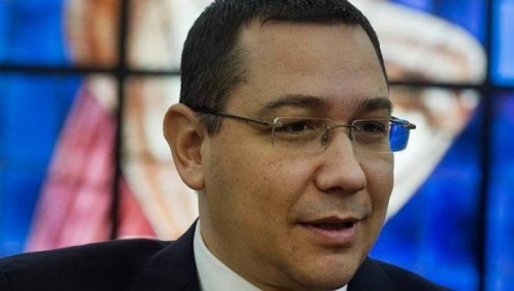 Ponta, deranjat de ipocrizia mitingului PSD: Să spună liderii cum au amante mai tinere ca fiicele!