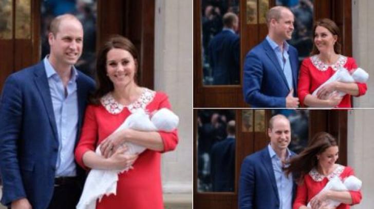 Kate Middleton a născut