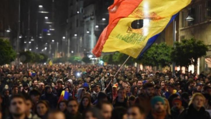 Protest Bucureşti