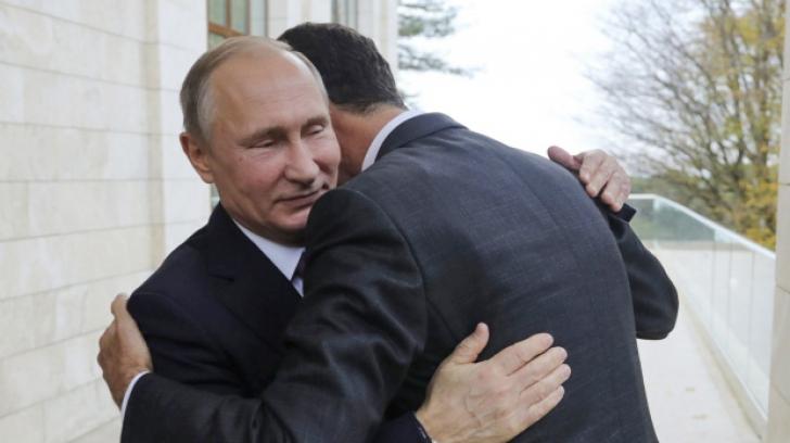 Vladimir Putin, aliatul lui Bashar al Assad