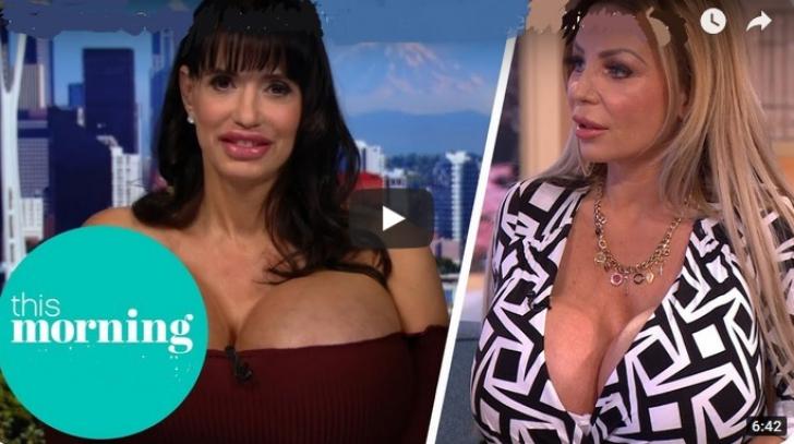 Femeile cu sâni uriași