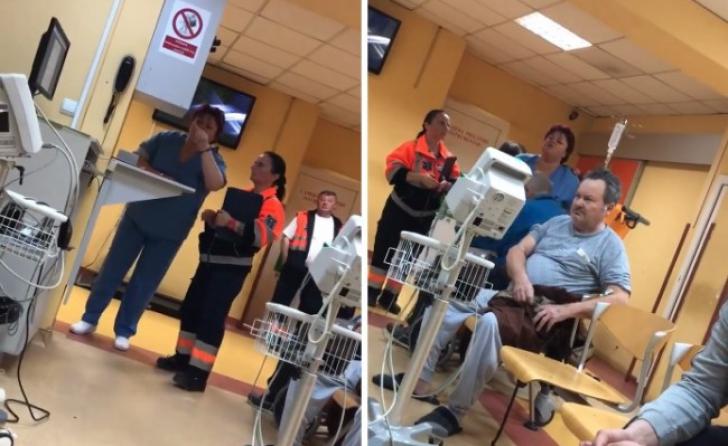 """Tratament-şoc la Oradea: Asistentă către pacienţi """"Nu vă convine, puteţi pleca!"""" (VIDEO)"""