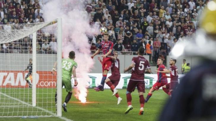 Violențe la meciul Steaua Rapid