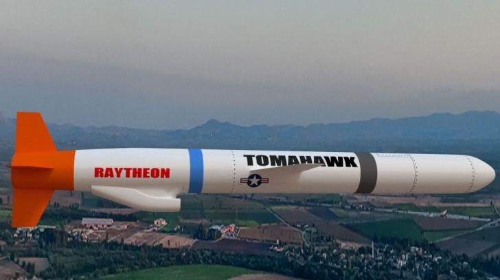 Rachetele Tomahawk, o armă preferată a SUA