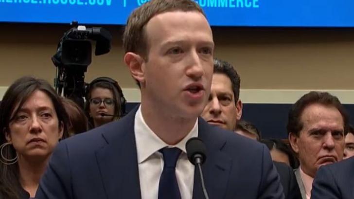 """Mark Zuckerberg, la audieri: """"Și datele mele au fost preluate de #Cambridge Analytica"""""""