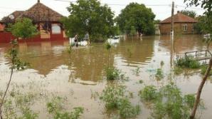 Cod galben de inundaţii pe râuri din 19 judeţe