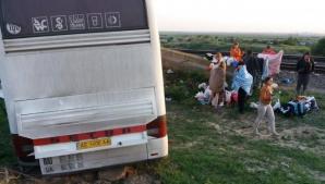 Accident grav lângă Brăila