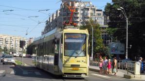 Accident de tramvai în București