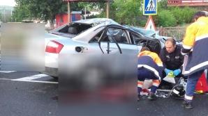 IMAGINI DE GROAZĂ: Un tânăr a murit pe loc - echipajele de salvare au fost în șoc!