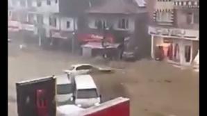 Inundaţii catastrofale la Ankara