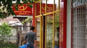 Oficiu poștal din Arad, spart de hoţi
