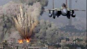 Bombardament în Fâşia Gaza