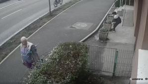 O bunică a ieşit cu nepotul la... furat. Ce îşi dorea femeia