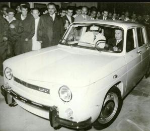Nicolae Ceaușescu și prima Dacie 1100