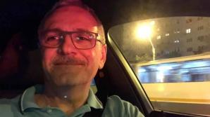 Liviu Dragnea, la volanul BMW-ului