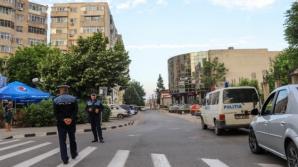 Alertă cu bombă la o bancă din centrul municipiului Giurgiu