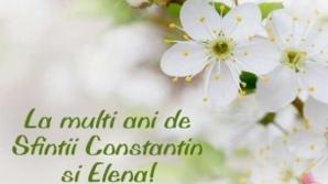 Felicitari si imagini cu text de Sf Constantin si Elena