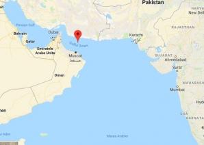 O zonă moartă se află în Golful Omanului