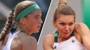 Simona Halep vs Helena Ostapenko