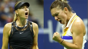 Halep vs Sharapova