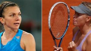 Simona Halep vs Sharapova
