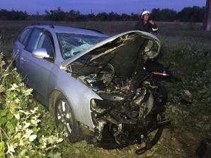 Accident în Timiș, lângă Lugoj