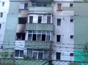 Incendiu la Iasi. Foto: ziaruldeiasi.ro