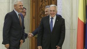 Dragnea, după întâlnirea cu Isărescu: Nu suntem în criză, PSD nu vrea să preia BNR - Sursa foto:Inquam Photos / Octav Ganea